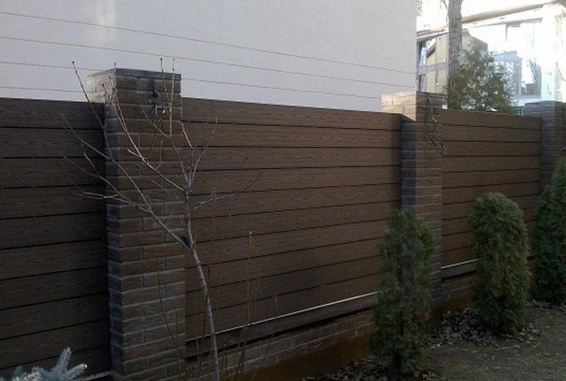 выполняют основную забор из палубной доски фото даже таким
